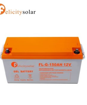 150AH 12V GEL SOLAR BATTERY (FELICITY)