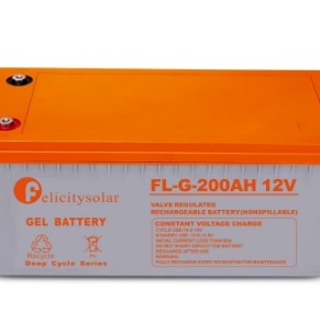 200AH 12V GEL SOLAR BATTERY (FELICITY)